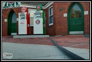 The Perry Sinclair Gas Station